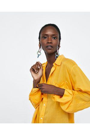 Zara OVERSIZED SHIRT WITH POCKETS