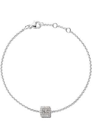 De Beers 18kt My First Aura princess cut diamond bracelet