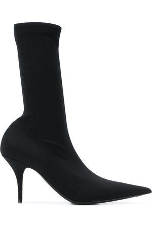 Balenciaga Knife crepe jersey boots