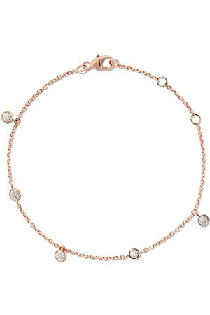 De Beers 18kt My First five diamond bracelet