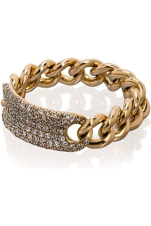 Shay Pavé link ring