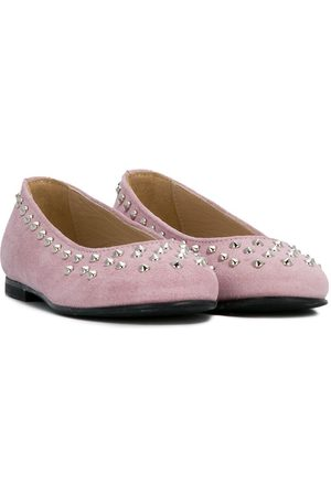 ERMANNO SCERVINO JUNIOR Studded ballerinas