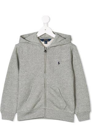 Ralph Lauren Boys Hoodies - Zipped logo hoodie