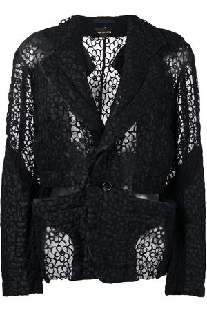 Comme des Garçons Floral lace jacket