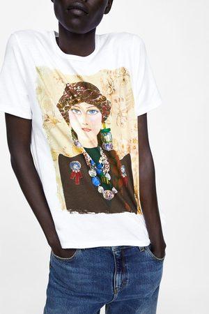 Zara GIRL PRINT T-SHIRT