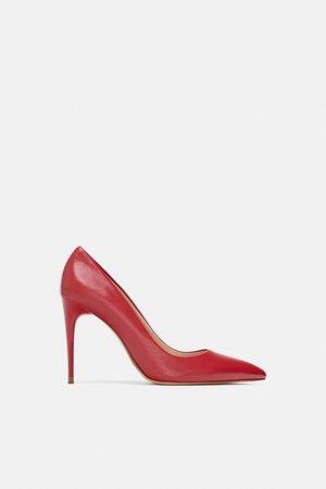 Zara COLOURED HIGH-HEEL COURT SHOES
