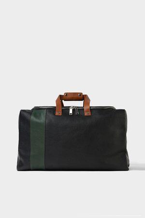 Zara LEATHER BOWLING BAG