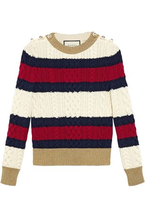 Gucci Striped knit top