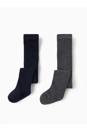 Zara Baby Stockings - 2-pack of basic plain tights