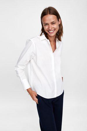 Zara BASIC CASUAL FIT SHIRT