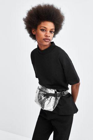 Zara Sweatshirts - RAISED COLLAR SWEATSHIRT