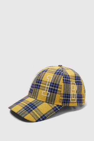 Zara CHECKED CAP