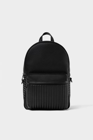 Zara Rucksacks - MICRO-PERFORATED BACKPACK