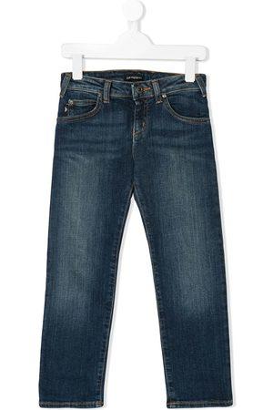 Emporio Armani Straight leg denim jeans