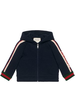 Gucci Baby Sweatshirts - Baby sweatshirt with Gucci stripe
