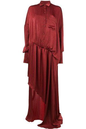 ESTEBAN CORTAZAR Asymmetric shirt dress