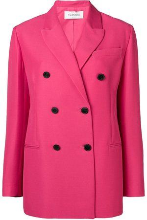 VALENTINO Double breasted tailored blazer