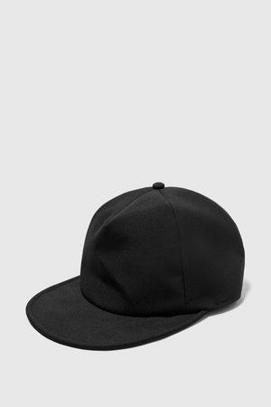 Zara TEXTURED WEAVE FLEXIBLE CAP