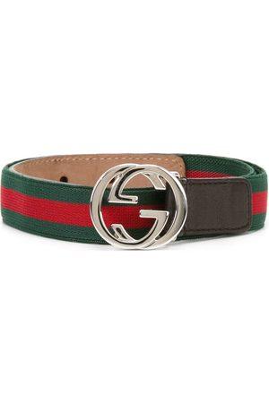 Gucci Web GG buckle belt
