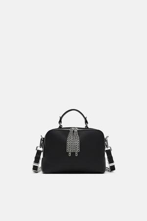 Zara ROCKER-STYLE BOWLING BAG