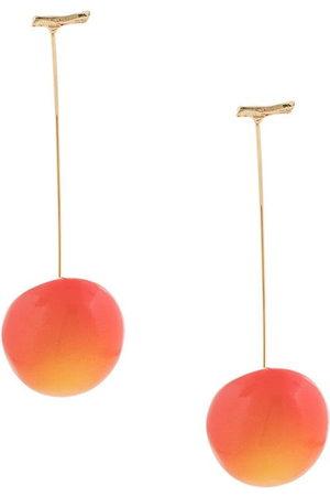 E.M. Women Earrings - Cherry pierced earrings