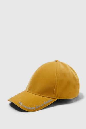 Zara Caps - EMBROIDERED SLOGAN CAP