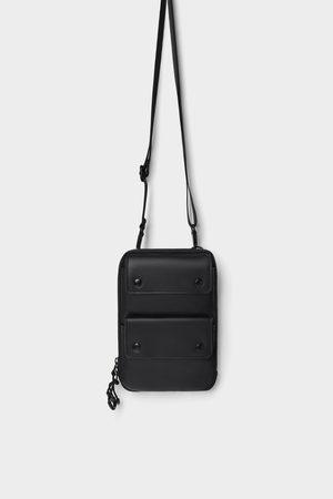 Zara Women Shoulder Bags - MINI DOUBLE POCKET CROSSBODY BAG