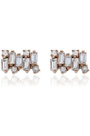 Suzanne Kalan Firework Diamond Earrings