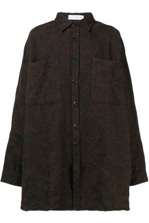 FAITH CONNEXION Oversized textured shirt