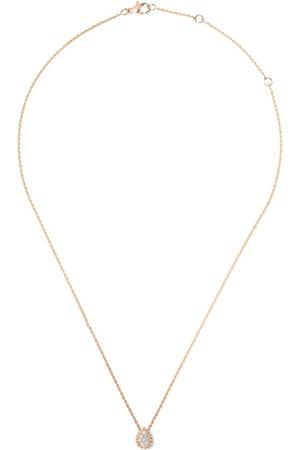 Boucheron 18kt rose gold Serpent Bohème diamond XS motif pendant necklace