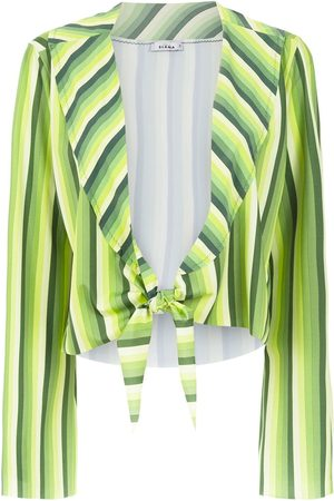 AMIR SLAMA Women Crop Tops - Striped cropped top