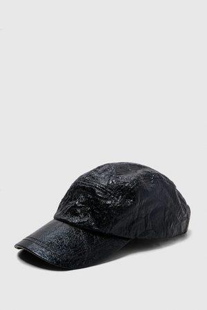 Zara CRINKLED CAP