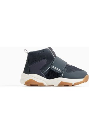 Zara Sneakers - CONTRAST HIGH-TOP SNEAKERS