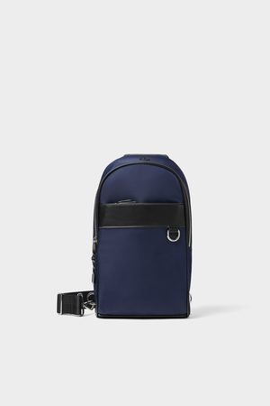 Zara ONE-SHOULDER SPORTS BACKPACK