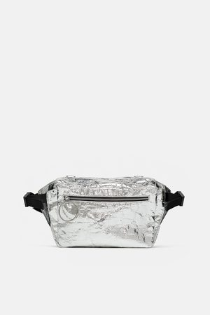 Zara METALLIC CROSSBODY BELT BAG