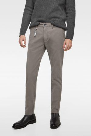 Zara NEW SKINNY CHINO TROUSERS