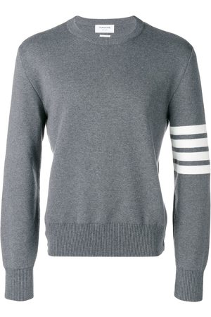 Thom Browne 4-Bar Milano Stitch Pullover