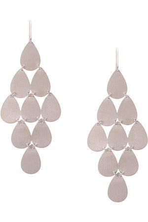 Irene Neuwirth 18kt gold nine-drop chandelier earrings