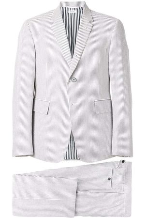 Thom Browne Seersucker Suit With Tie
