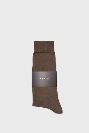 Zara PREMIUM QUALITY MERCERISED COTTON SOCKS