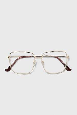 Zara SQUARE METAL FRAME GLASSES