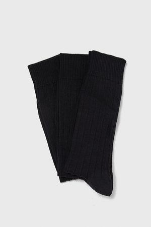 Zara PACK OF RIBBED SOCKS