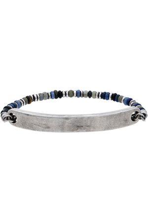 M. COHEN And silver 9 mm bar sterling silver bracelet