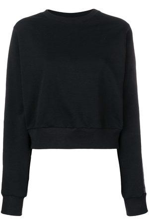 NO KA' OI Tape sleeve sweatshirt
