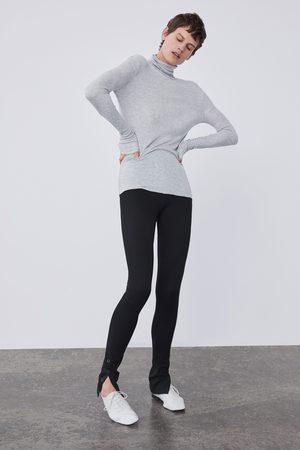 Zara BASIC TURTLENECK T-SHIRT
