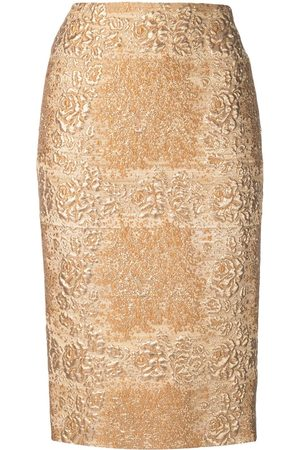 VALENTINO Brocade pencil skirt