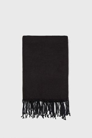 Zara Scarves - PLAIN SCARF WITH FRINGE