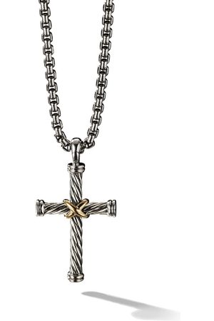 ddacad8d8827f2 Cross necklace Gold men's necklaces, compare prices and buy online
