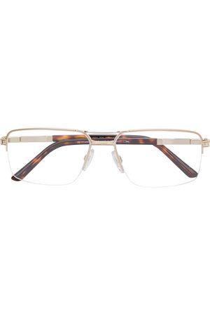 Cazal Rectangular frame glasses