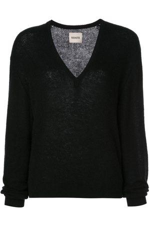 Khaite Cashmere V-neck jumper
